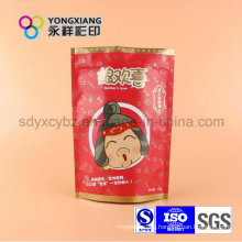Stand up Aluminum Foil Snack Food Plastic Package with Zipper