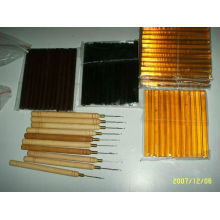 barras de pegamento, queratina en herramientas de extensión de cabello para salón