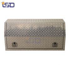 Aluminum checker plate Pickup Truck bed storage Box with lock Aluminum checker plate Pickup Truck bed storage Box with lock