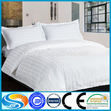 Rayas dobby bedsheet / ropa de cama para el hotel