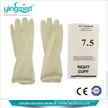 Latex-OP-Handschuhe mit Power oder puderfrei