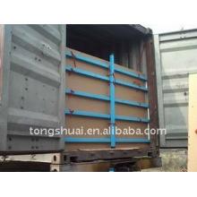 5 слоёв флекситанк помещены в контейнер для жидких транспорта