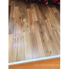 Revestimento de madeira da acácia interna do uso do revestimento do óleo da cera da importação