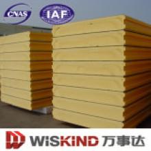 Panel de sándwich de PU de calidad superior para material de pared