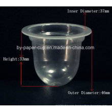 Take Away of Custom Crystal Transparent Plastic Jelly Cups