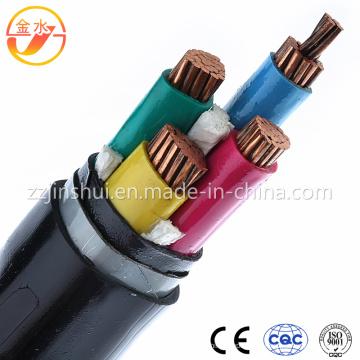PVC / PE / XLPE / Caoutchouc / 4 Core / Câble d'alimentation