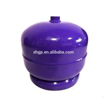 Umweltfreundliche inländische 2kg LPG-Gasflasche der hohen Qualität zum niedrigen Preis