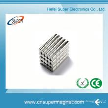China Wholesale Permanent Neodymium Cylinder Magnet