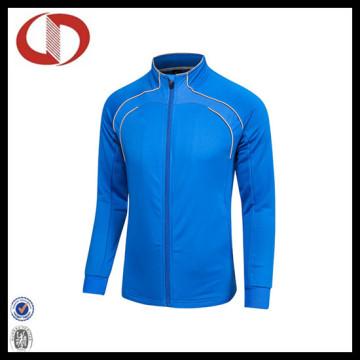 Novo estilo personalizado logotipo futebol esportes vestuário formação jaqueta