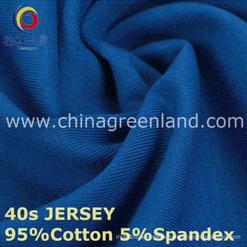 40s Cotton Spandex Knitted Jersey Fabric for Clothes Garment (GLLML220)