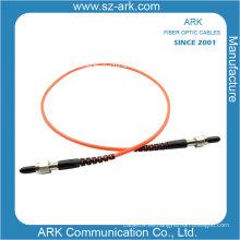 Cable de fibra óptica multimodo Simplex con conector SMA