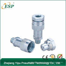 china supplier steel kze close type hydraulic quick coupler