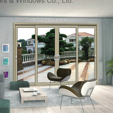 Aluminium Sliding Window Push-Pull Smooth with Hollow Toughened Glass (FT-W85)