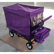 Four Wheels Folding Trolley with Tent