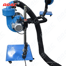 AA4C car exhaust extracting  system auto vehicle  exhaust  dolly for car with single or dual pipe control customize  size