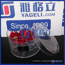 Прозрачная акриловая подставка для цветов