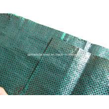 Matériel 100% de Vigin pp, crique moulue de tissu de géotextile de pp