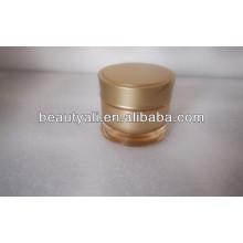 Ronda de la cintura plástico cosméticos jarra 15ml 30ml 50ml