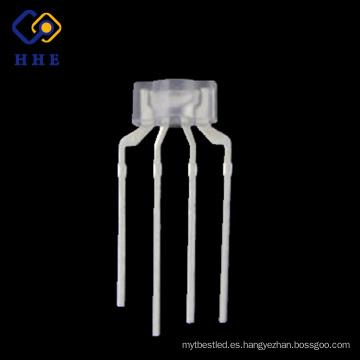 Alta calidad 4 pines 236 diodos de RGB LED transparentes de agua para el teclado