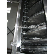 Continue Plate Dryer for Drying Calcium Carbonate Powder