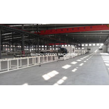 Gas Water Supply PE Pipe Production Line HDPE Pipes Extrusion Line