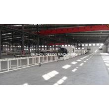 PVC PE PP PPR Plastic Pipe Extrusion Extruder Machine