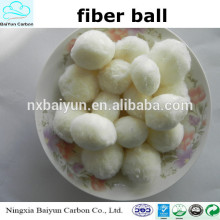 Modified Fiber Ball/Fiber Ball Filter Media for the water filter