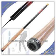 TER001 grafite vara de pesca em branco vara de pesca weihai oem carbono tenkara vara de pesca