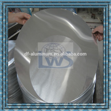 Dessin profond Feuille en cire en aluminium pour usage de cuisine, cercle en aluminium pour ustensiles de cuisine