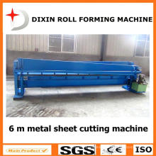 Dixin Galvanized Steel Sheet Cutting Machine