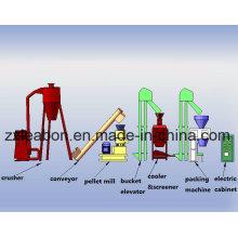 80-1000kgs / H Extrusora de pellets de madera de paja