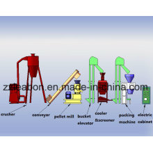 80-1000kgs/H Straw Wood Pellet Extruder