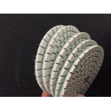 7 Steps Diamond Polishing Pad Wet Use Flexible Abrasive Pad for Stone