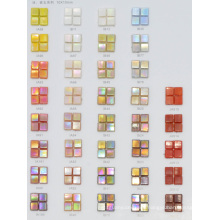 Solid Color Glass Mosaic Tile for Decorative Material 10by10