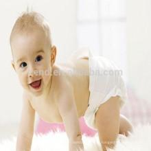 Fralda hidrofílica descartável do bebê com matérias primas de alta qualidade