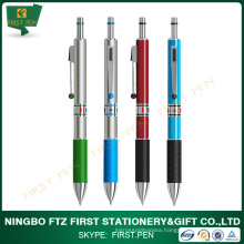 Colorful Aluminum 3 in 1 Pen