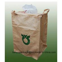 1 Ton Jumbo Bags Cross Corner Loop, UV Treated