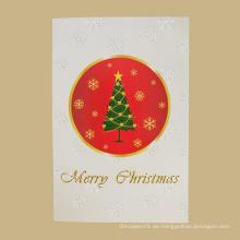 Verkaufen Sie gut neue Art Europa-Weihnachtstaggrußkarte