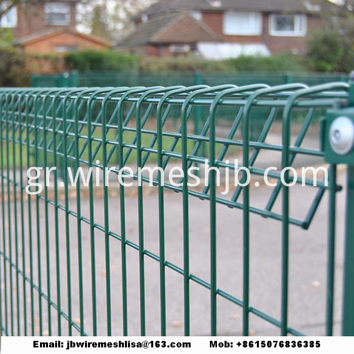 Welded Wire Mesh Panel Of Rolltop Fence