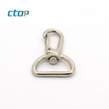 Custom high quality bag hardware swivel zinc alloy spring purse hook metal hook for bag handbag hook