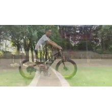 26x4 Fat 48v 500w Electric Fat Tire bike