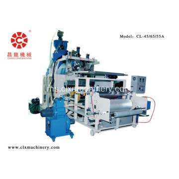 Tiga Extruders Stretch Wrap Line Film Production