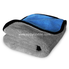 1000gsm 40x40cm Soft Microfiber Car Buffing Polishing Towel