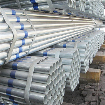 100mm 2 inch DiameterWelded Galvanized Steel Pipe Tube