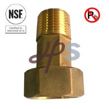 NSF-61 Bronze au plomb libre ou coupleur de compteur d'eau en laiton