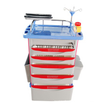 Cq-02 Medical Supplies ABS Price for Medicine Trolley Suppliers
