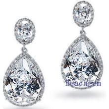 Fashion Jewellery Cubic Zirconia Earrings (E8906)