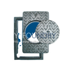 Inspection Cover Closed Key Hole Manhole Covers
