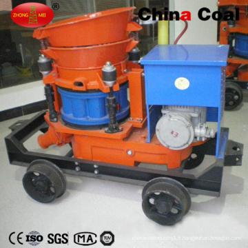Construction Mining Tunneling Pz-5 Machine de gunite de béton projeté de mélange sec