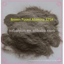 Abrasivos y materia prima refractaria marrón fundido granos de alúmina